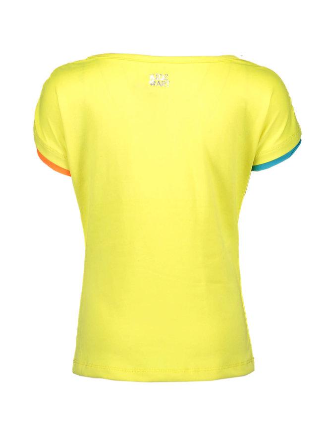 Shirt You Stole My Heart - Neon Yellow
