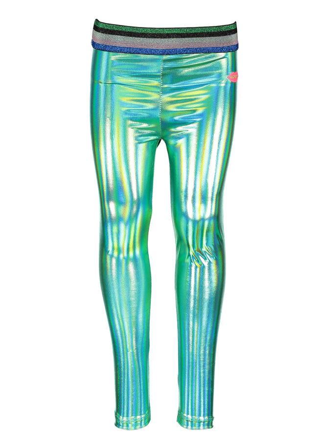 Coated Legging - Green
