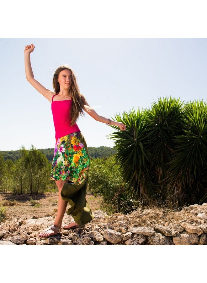 Smocked Top Jamaica - Fuchsia