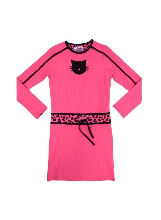 Dress Pink Panther - Bright Fuchsia