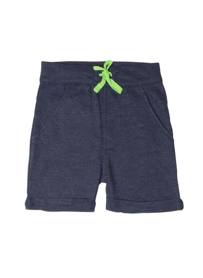 Short Finn Dark Blue Melange (koord broek is blauw i.p.v groen)