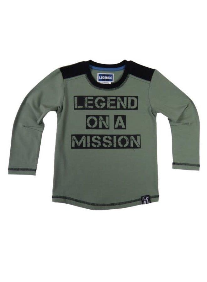 Shirt Legend on a Mission