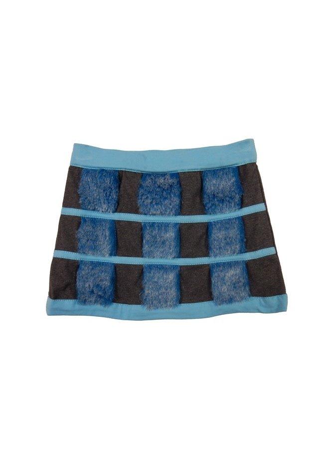 Skirt Furry Squares