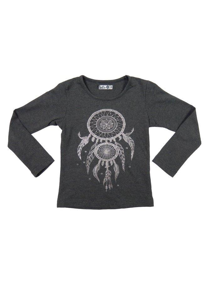 Dreamcatcher Shirt - Dark Grey Melange