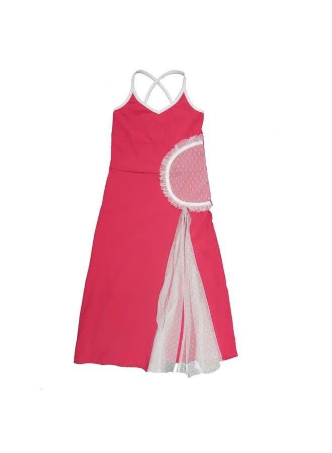 Maxi Beach Dress Fuchsia