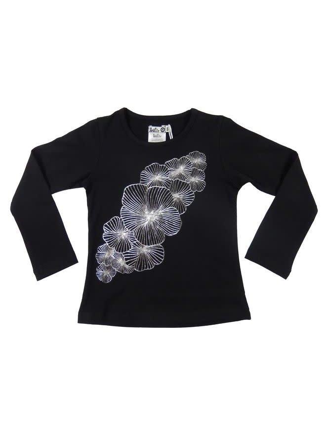 Hopeful Shirt - Black Silver
