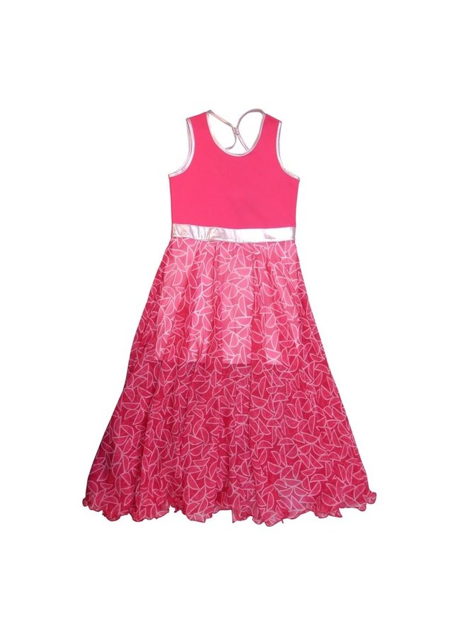 Maxi Dress Chiffon - Pinks