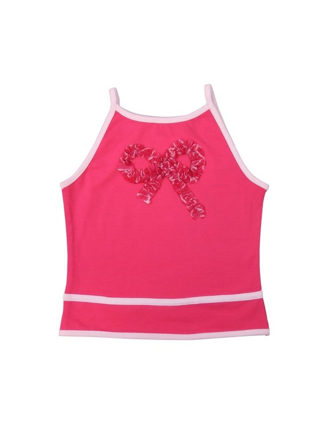 Strappy Top - Neon Pink