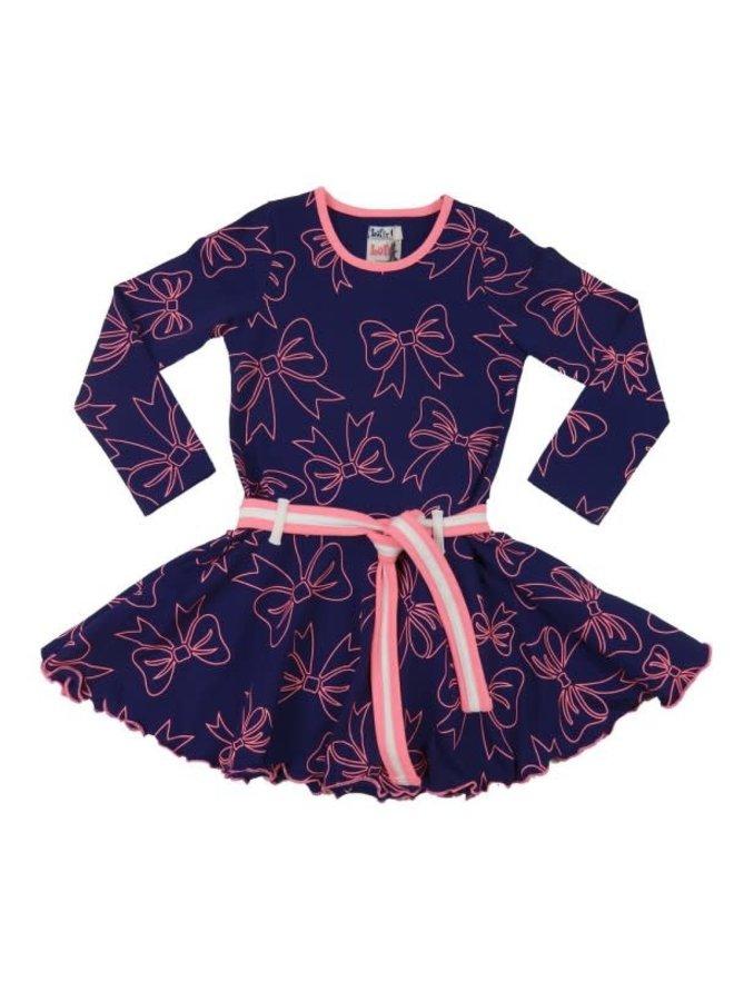 LoFffely Dress - Blue/Pink