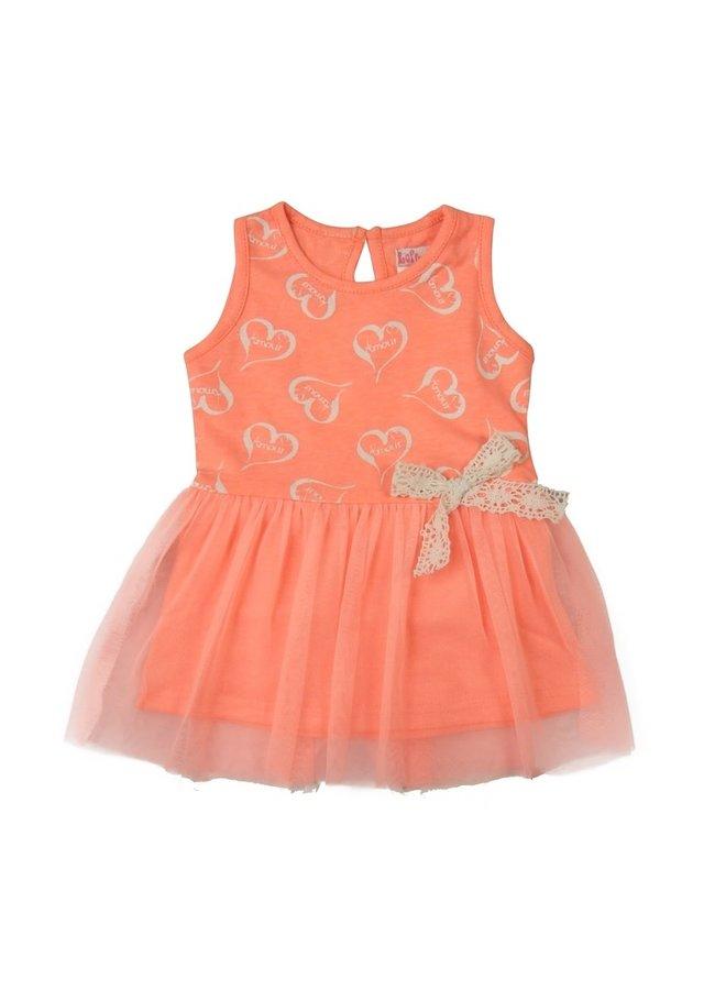 Dress Love - Light Coral Neon