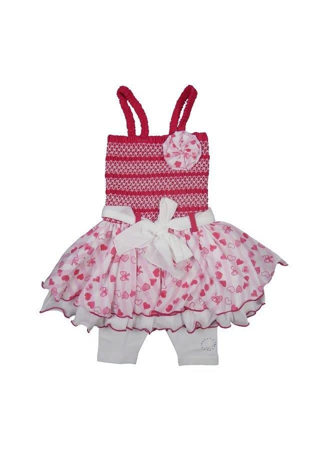 Baby Smocked Dress Fuchsia