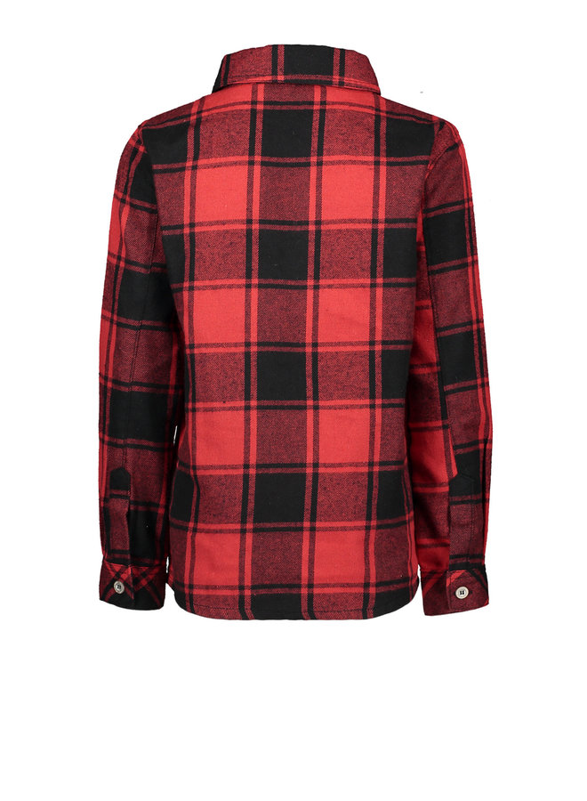 Blouse Check - Red/Black