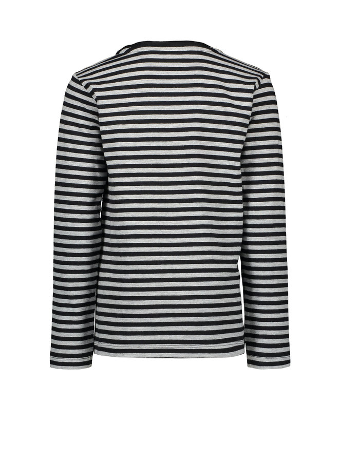 Shirt Stripe - Black/Grey