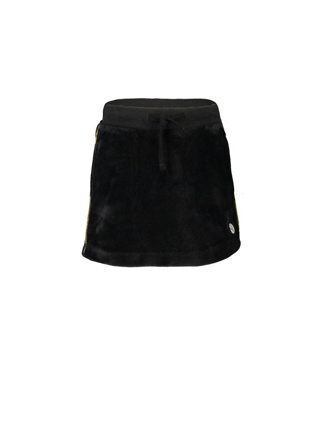 Velours Skirt - Black