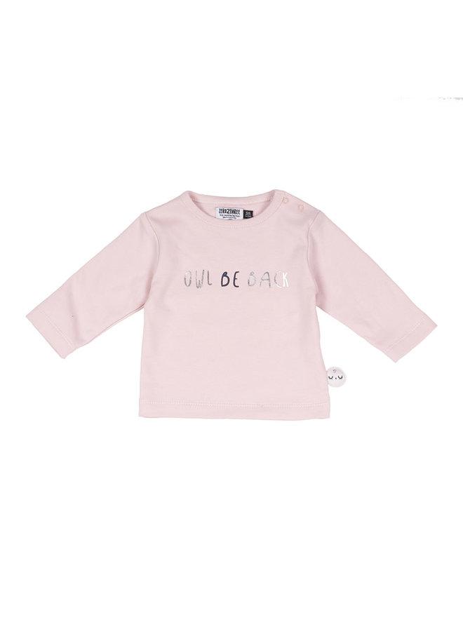 Shirt Roze - Uil