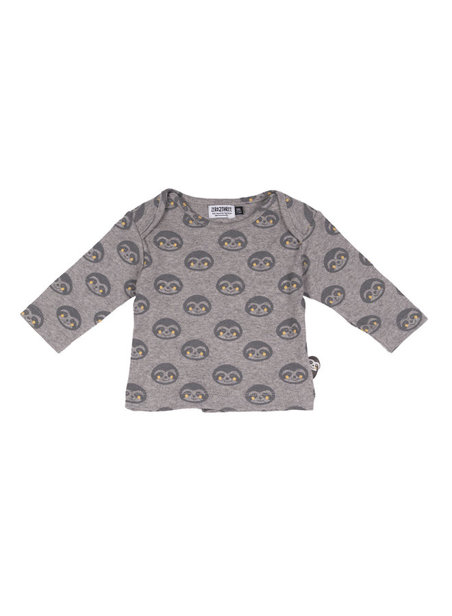Shirt Print - Luiaard