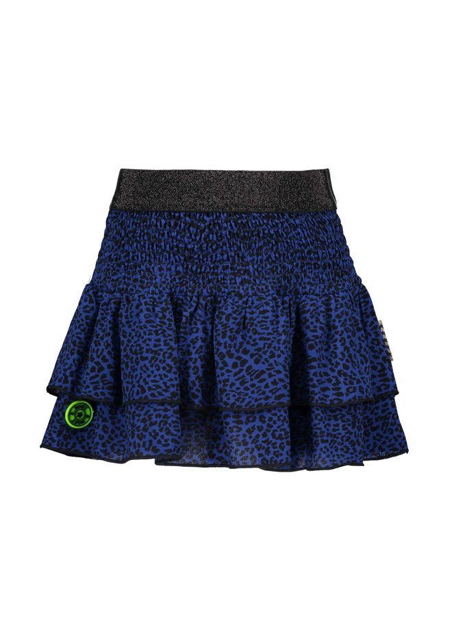 Skirt Blue Panther - Valt kleiner!