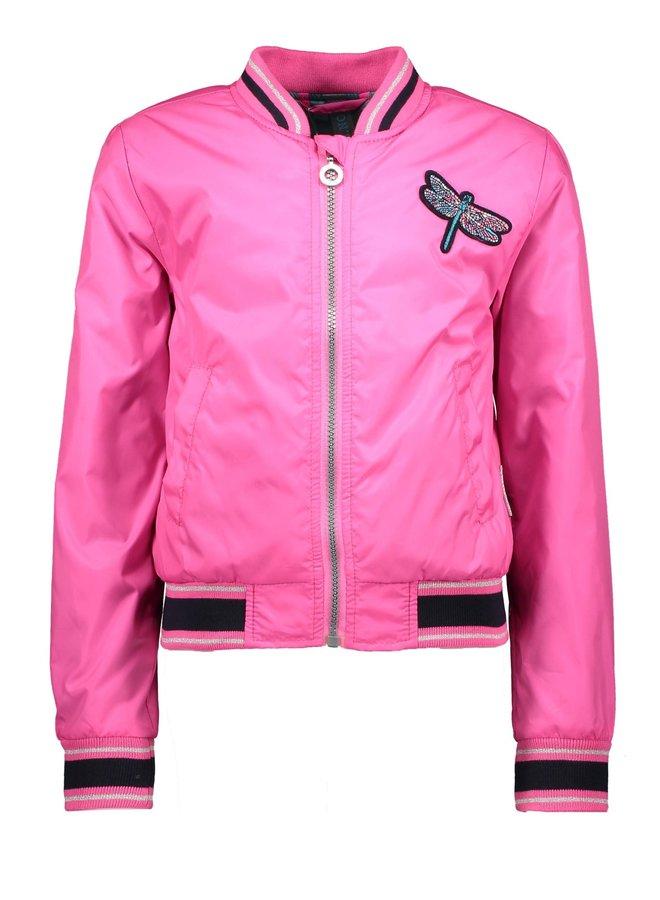 Jacket Zebra - Pink Glo
