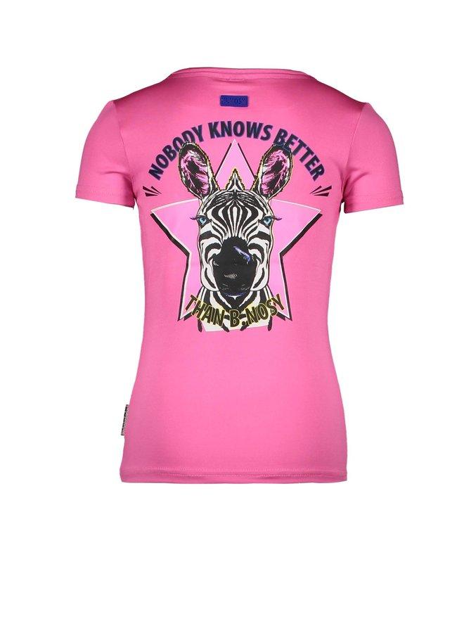Shirt Zebra - Sugar Plum