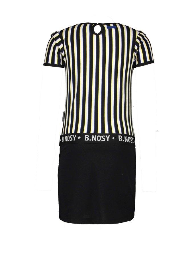 Dress 4 Color Stripe