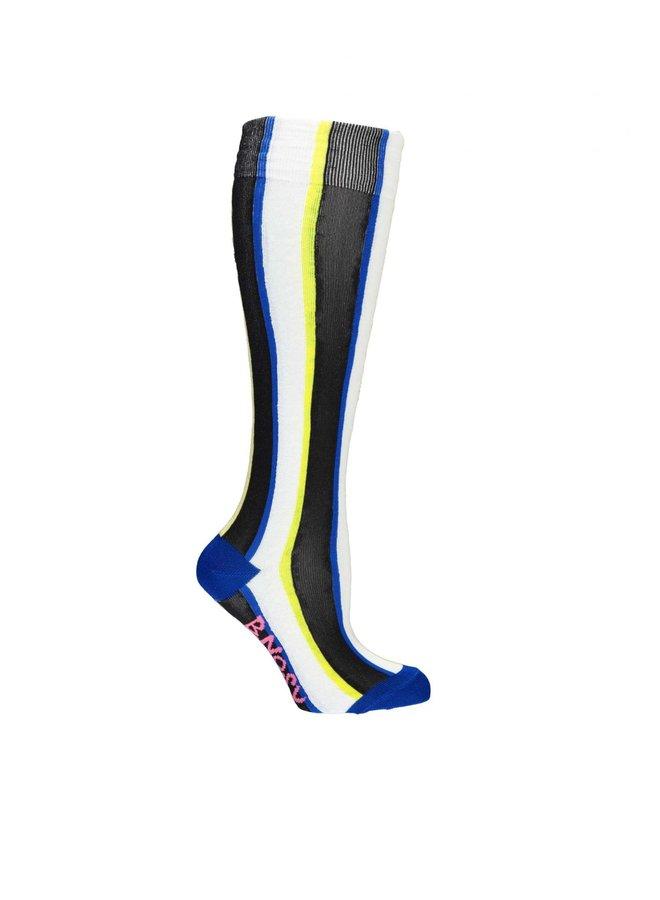 Socks 4 Color Stripe