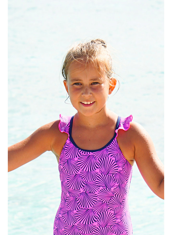 Swimsuit - Plum Shell