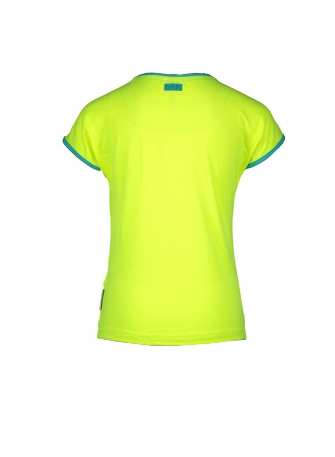 Shirt Girl Talk - Safety Yellow
