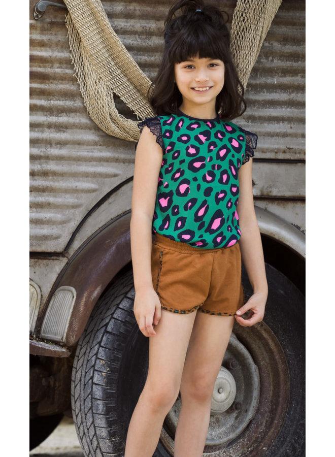 Shirt Jade Leopard