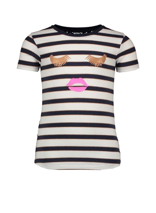 Shirt Lace Backside - Oxford Stripe