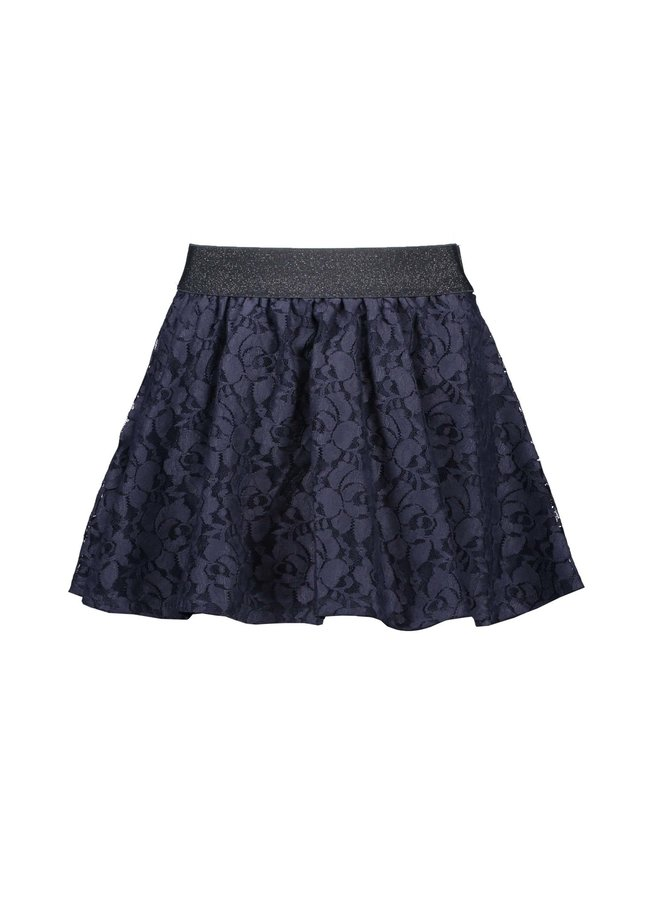 Lace Skirt Oxford Blue