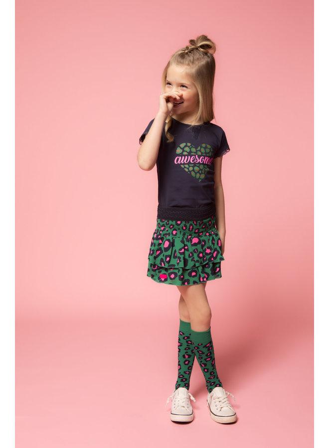 Skirt Jade Leopard
