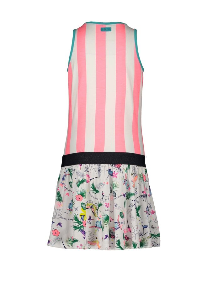 Dress Striped Top and Birdy Skirt