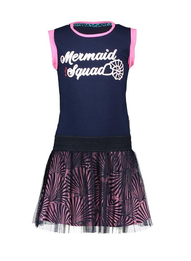 Dress Mermaid Squad - Space Blue