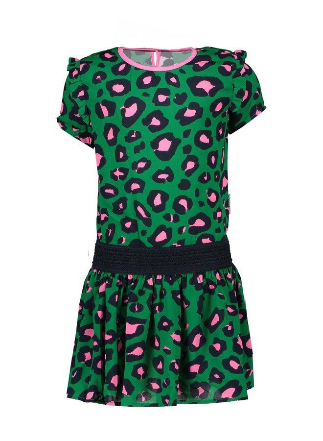 Dress Jade Leopard