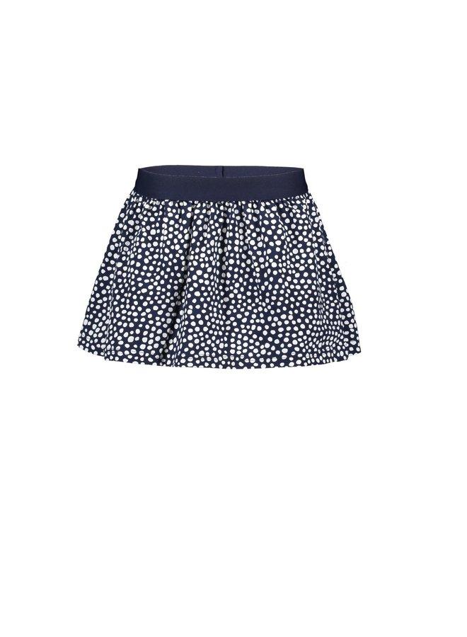 Skirt - Dots Space Blue