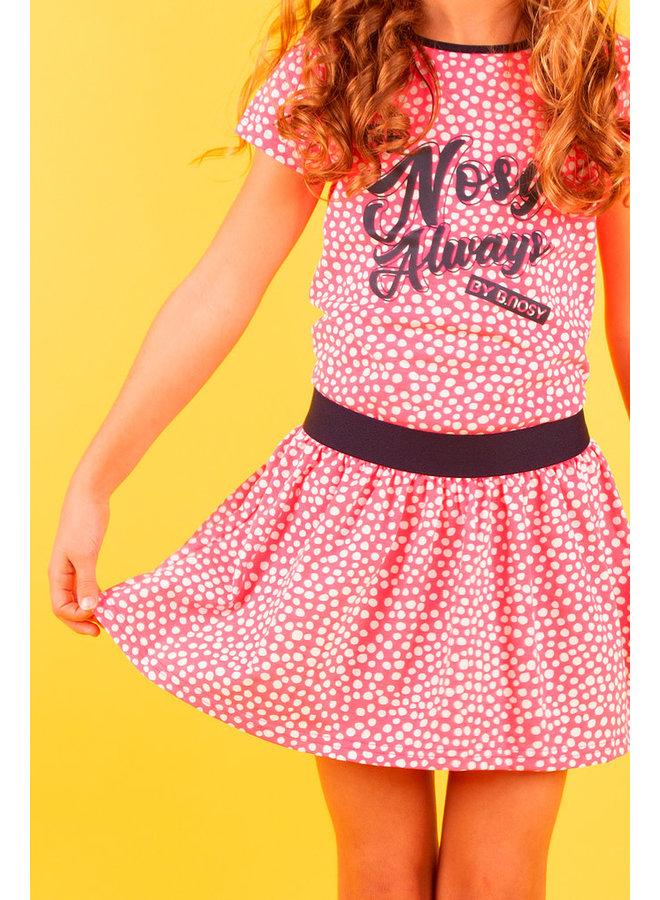 Skirt - Dots Pink Lollypop
