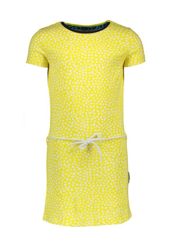 Dress - Dots Lemon