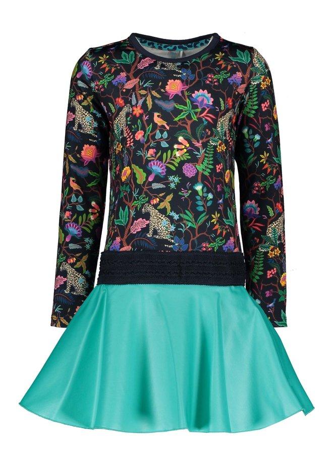 Dress Coated Skirt - Jungle/Ceramic