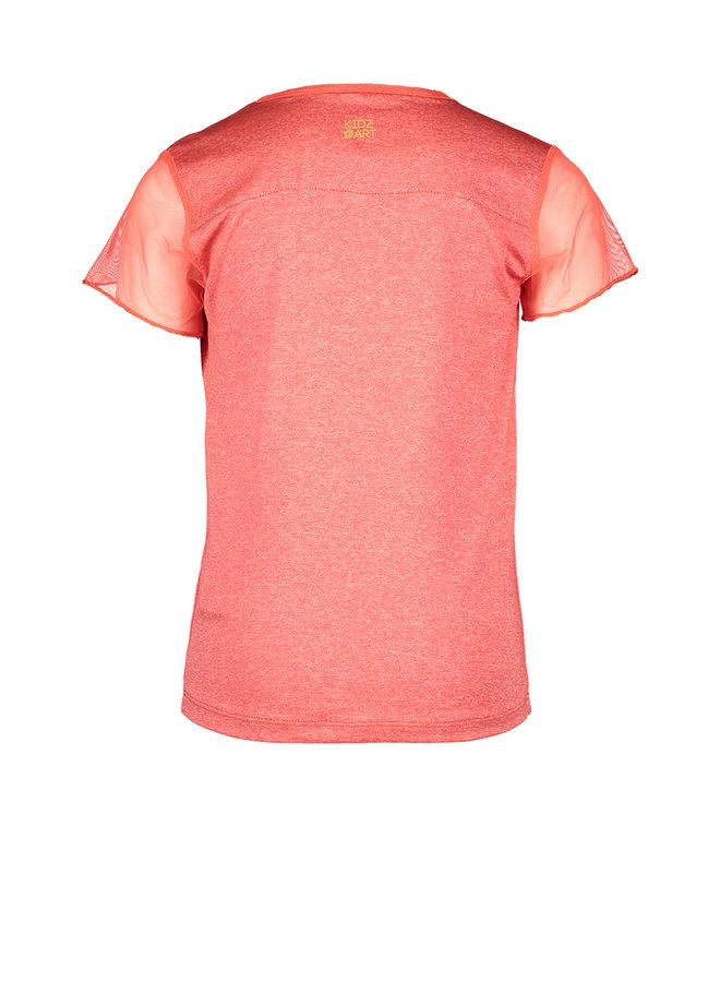 Shirt Parrot - Neon Orange