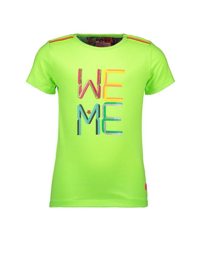 Shirt WE ME - Lime