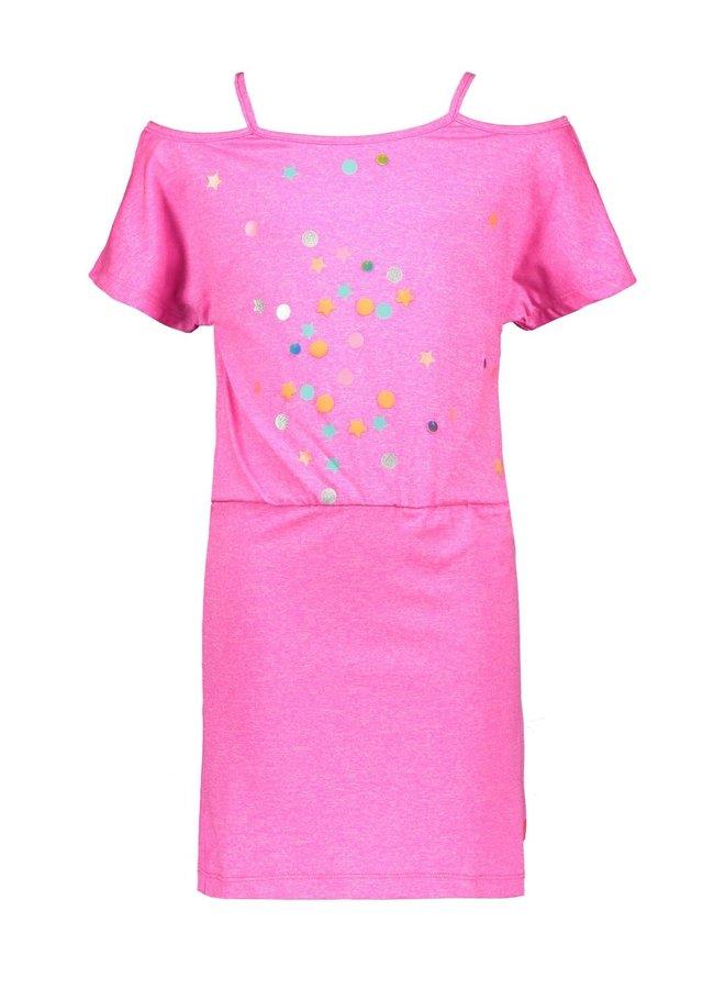 Dress Confetti - Neon Pink