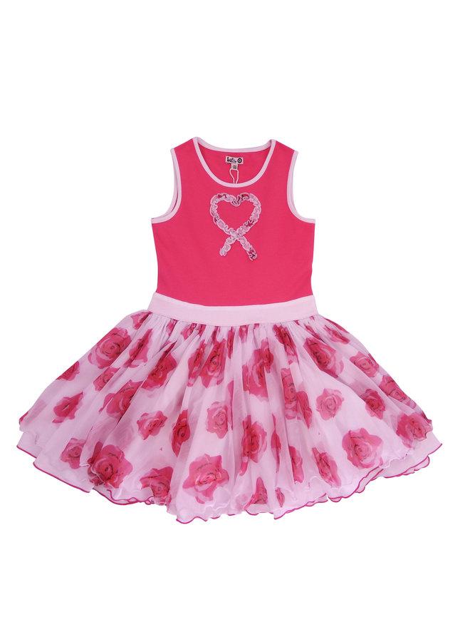 Dancing Dress - Pink Roses