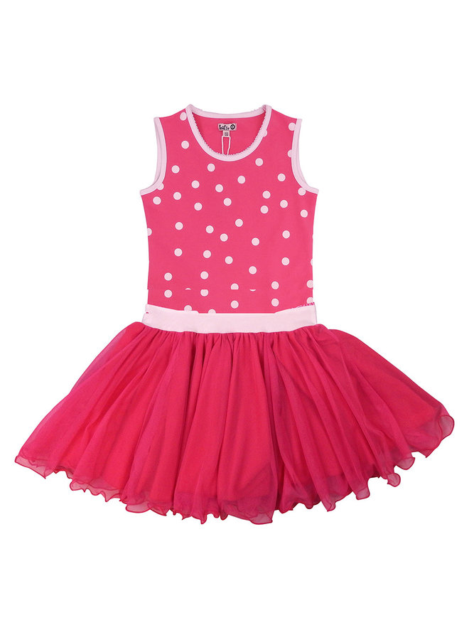 Dancing Dress - Pink Dots