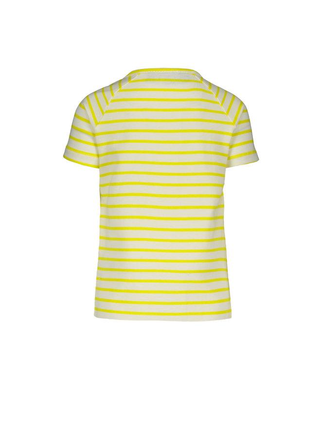 Shirt Stripe Yellow