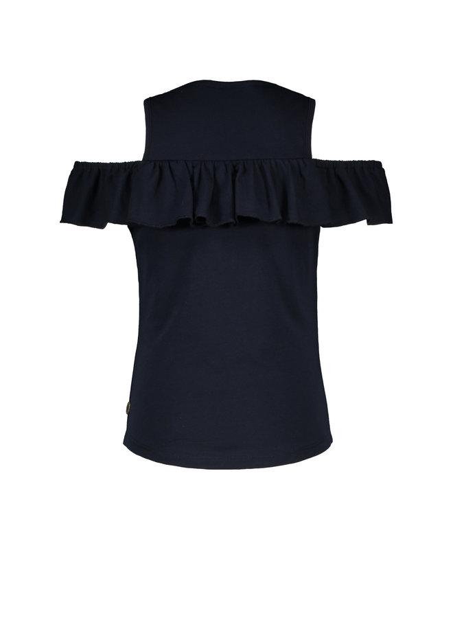 Shoulder Shirt Navy