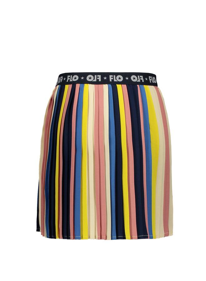 Skirt Multicolor Stripe