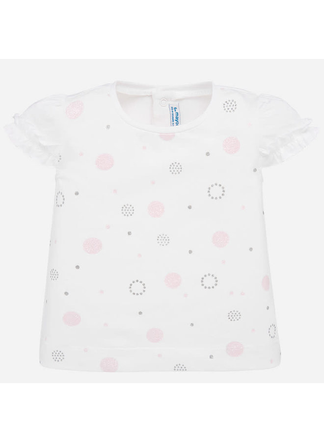 Shirt Print - Rose