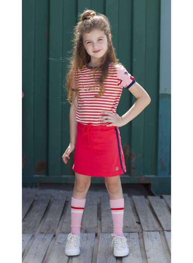 Sporty Dress - Red