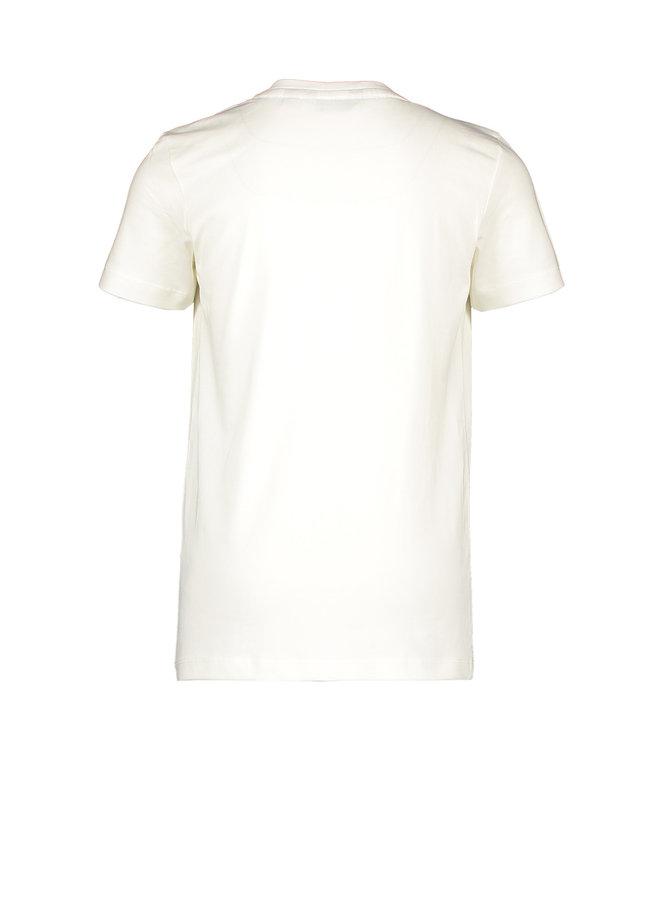 Shirt Chestprint - Warm White