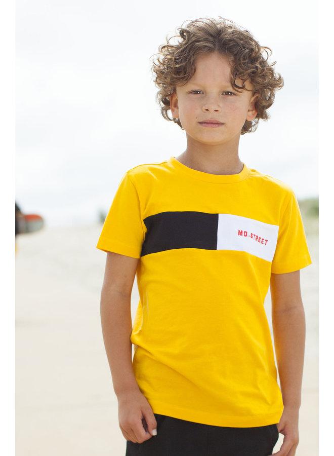 Shirt Contrast Stroke - Dark Yellow